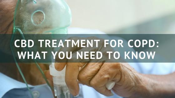 Treating COPD with Cannabidiol (CBD)