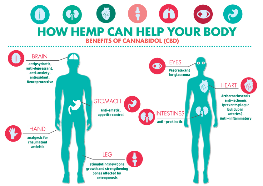 What are the Health Benefits of Cannabidiol (CBD)