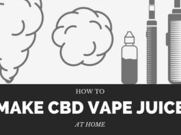 Making CBD Vape Juice at Home