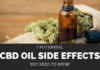 Cannabidiol Oil Side Effects