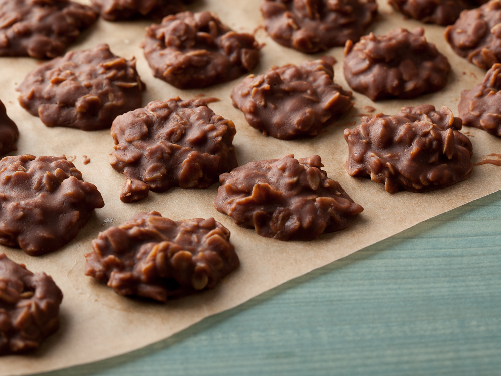 CBD Infused Chocolate Peanut Butter No Bake Cookies