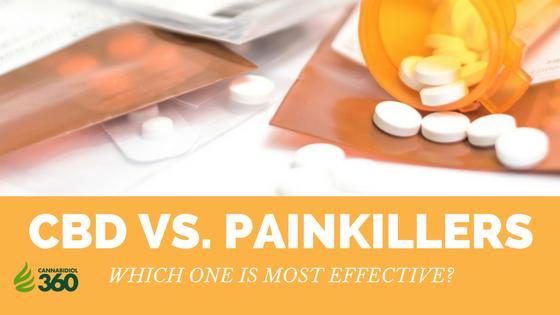 CBD vs. Painkillers