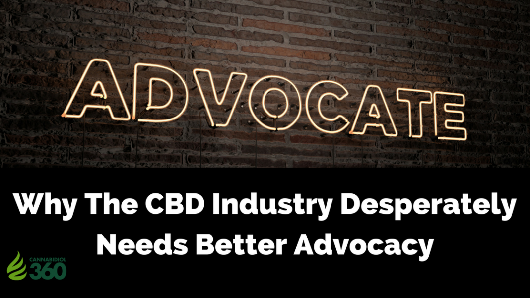 Advocacy for CBD