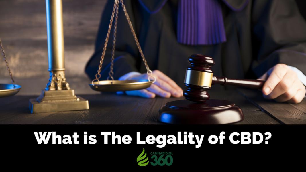 Is Cannabidiol Oil Legal?