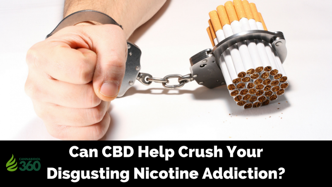 CBD for Treating Tobacco Addiction