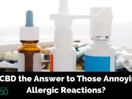 CBD for Allergic Reactions
