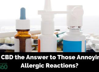 CBD for Allergic Reactions