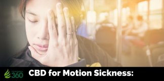 Treating Symptoms of Motion Sickness with CBD