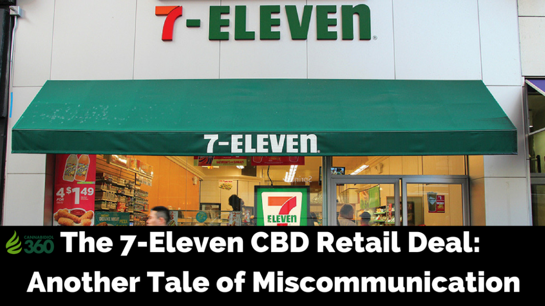 Is CBD Now Sold in 7-Eleven?