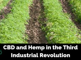 Third Industrial Revolution: CBD and Hemp