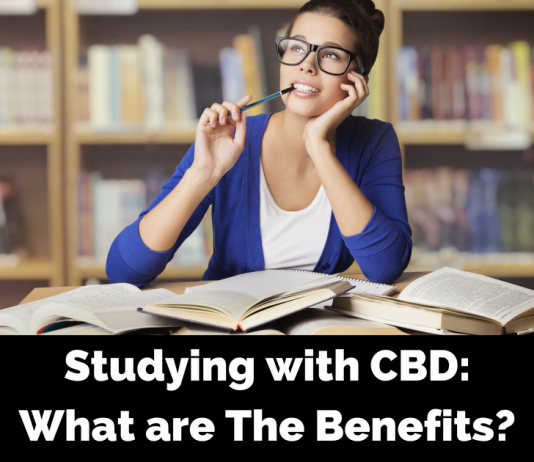 What are the benefits of Using CBD to Study?