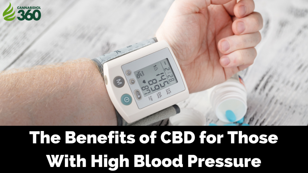 CBD for High Blood Pressure