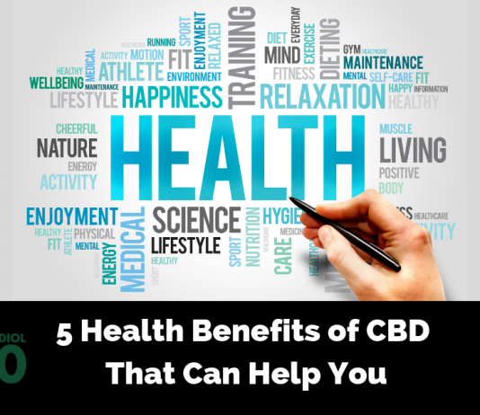 5 Health Benefits of CBD That Can Help You