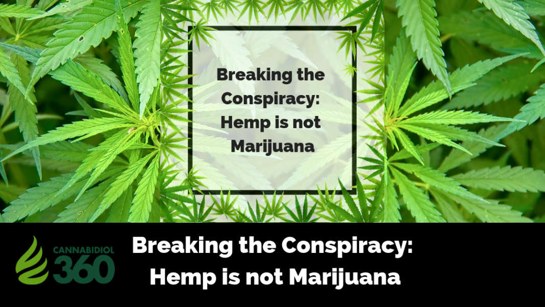 Breaking the Conspiracy: Hemp is not Marijuana