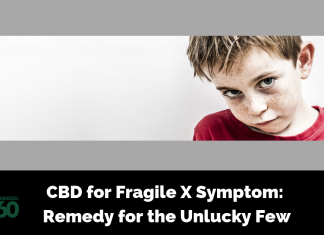 CBD for Fragile X Symptom: Remedy for the Unlucky Few