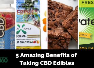 5 Amazing Benefits of Taking CBD Edibles