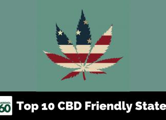 Top 10 CBD Friendly States