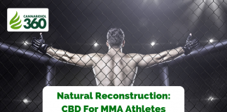 Natural Reconstruction: CBD For MMA Athletes