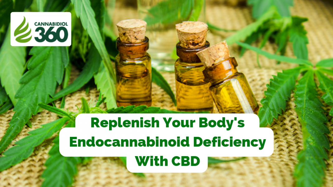 Replenish Your Body's Endocannabinoid Deficiency With CBD