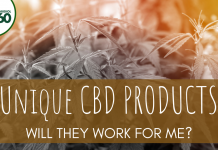 Unique CBD Products: Will They Work For Me?