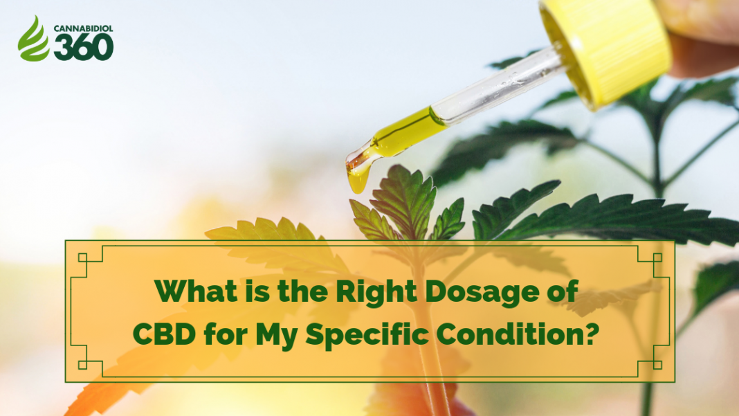What is the Right Dosage of CBD for My Specific Condition?