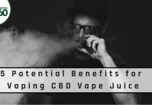 5 Potential Benefits for Vaping CBD Vape Juice