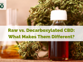 Raw VS Decarb CBD